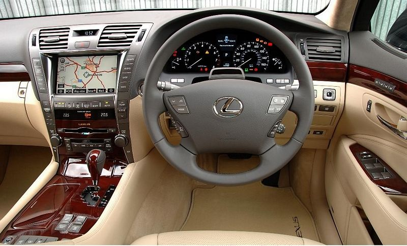 Lexus LS 2007 On
