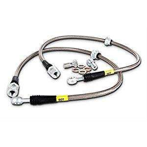 Stoptech 950.42004 Stainless Steel Brake Lines Front - Nissan 350Z 2003-2008 / Inifniti G35 2003-2007