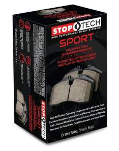 STOPTECH  309.13460 SPORT BRAKE PADS (Front)