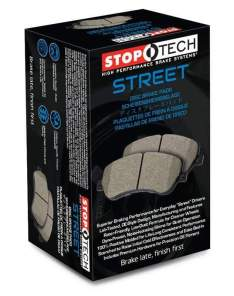 STOPTECH 308.12870 STREET BRAKE PADS (Front)