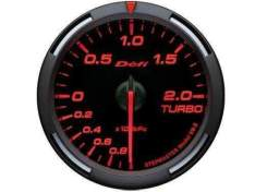 DEFI DF06505 Red Racer boost pressure gauge 52mm