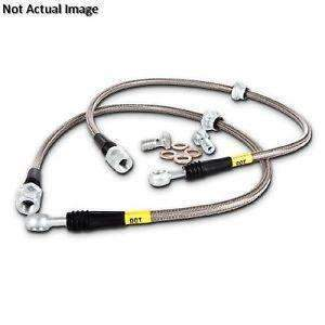 STOPTECH 950.44034 Stainless steel brake lines for Subaru BRZ, TOYOTA 86 Full Option (Front only)