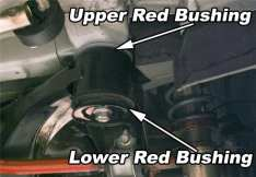 PERRIN (PSP-SUS-530)  SUBFRAME LOCKDOWN BUSHINGS