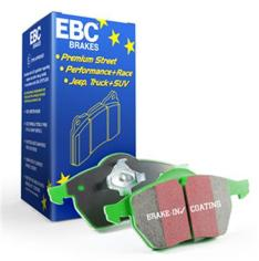 EBC DP61816 GREENSTUFF BRAKE PADS (Rear) for Toyota Land cruiser LC200