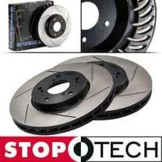 STOPTECH  SLOTTED SPORT ROTOR for Honda Civic Front (Right and Left)