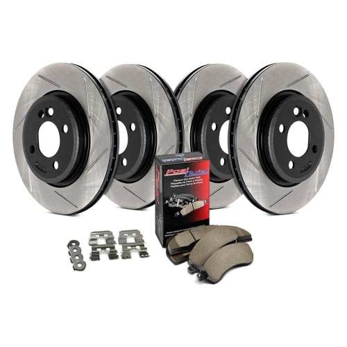 StopTech 934.63014 Street Slotted Front and Rear Brake Kit