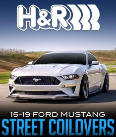 H&R STREET PERFORMANCE COILOVERS 2015-2019 FORD MUSTANG