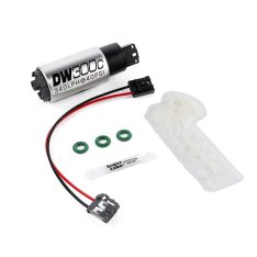 DeatschWerks 9-307-1010 340lph DW300C Compact Fuel Pump w/ 12+ Scion FR-S/BRZ / 15 WRX Set Up Kit