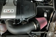 JLT CAI-FMG-18 Performance Cold Airintake18-19 Ford Mustang GT Black Textured Cold Air Intake Kit - Tune Req