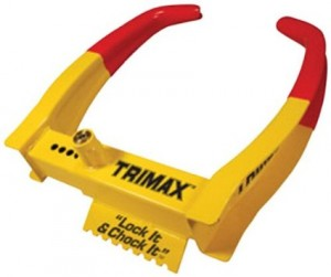 Trimax Lock-it & Chock-it