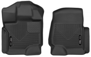 Husky Liners (53341): X-act Contour Front Floor Liners 2015 Ford F-150 SuperCrew Cab Pickup