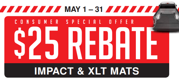 BedRug: Get $25 Off Impact and XLT Mat Purchases