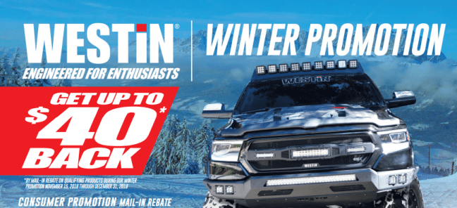 WESTiN 40 Back During Winter Promotion