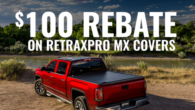 Retrax: Get $100 Back on RetraxPRO MX Truck Bed Cover