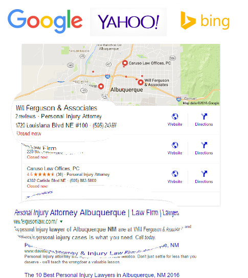 Top Legal Search Results
