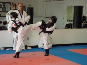 Junior Leadership Sparring Practice