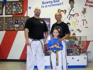 The Sibleys with Master Sam Phrumjuntun of Longview, TX