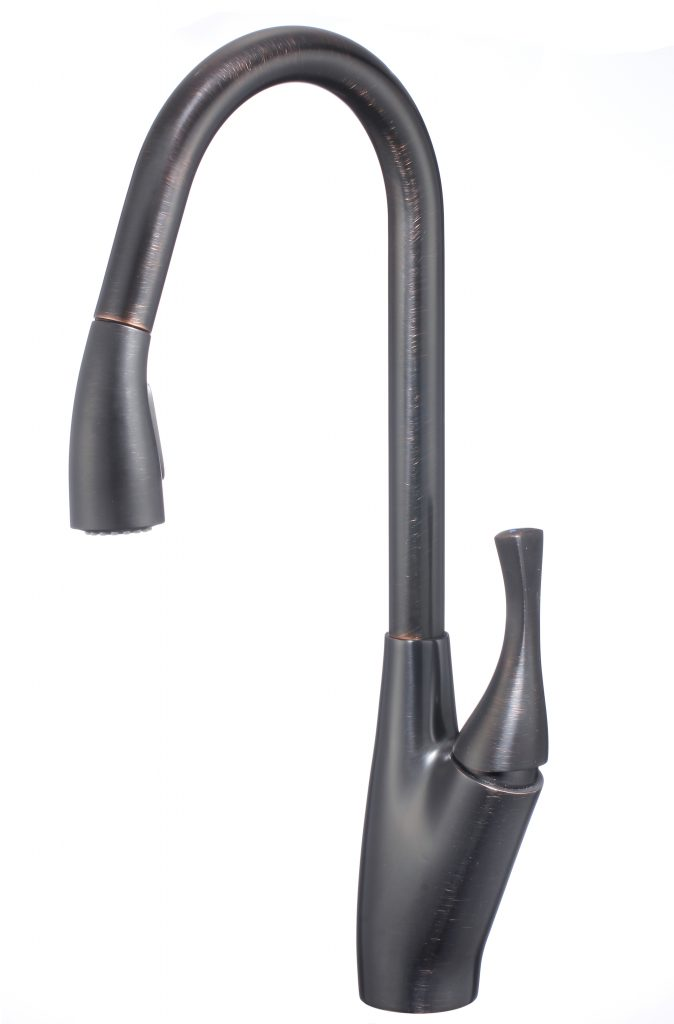 Fountain Series Kitchen Faucet Oil Rubbed Bronze Performance