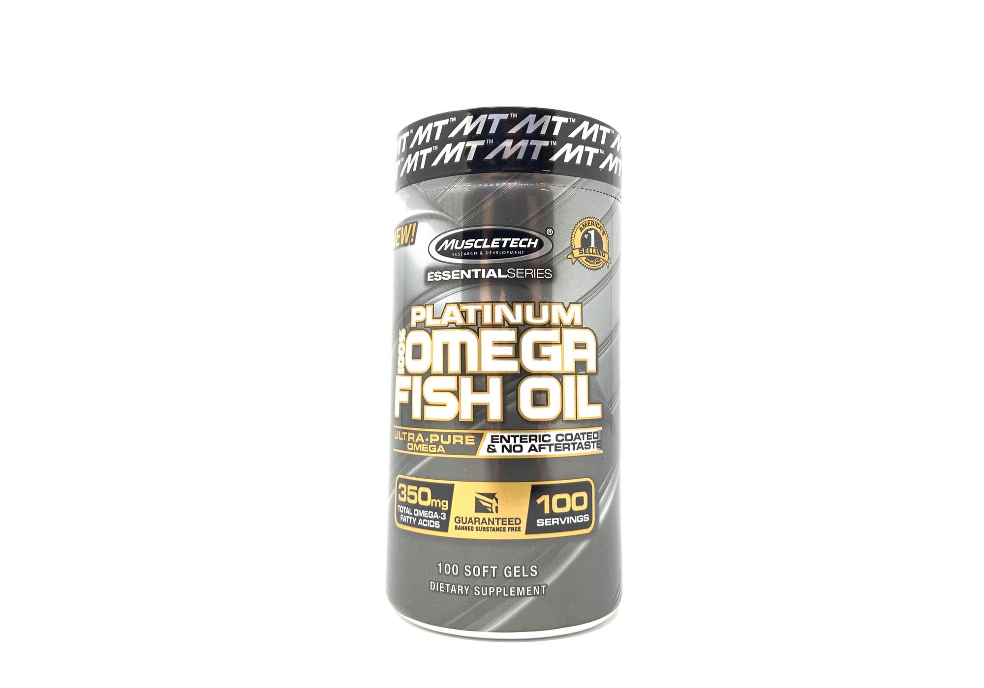 Platinum Omega Fish Oil 100ct
