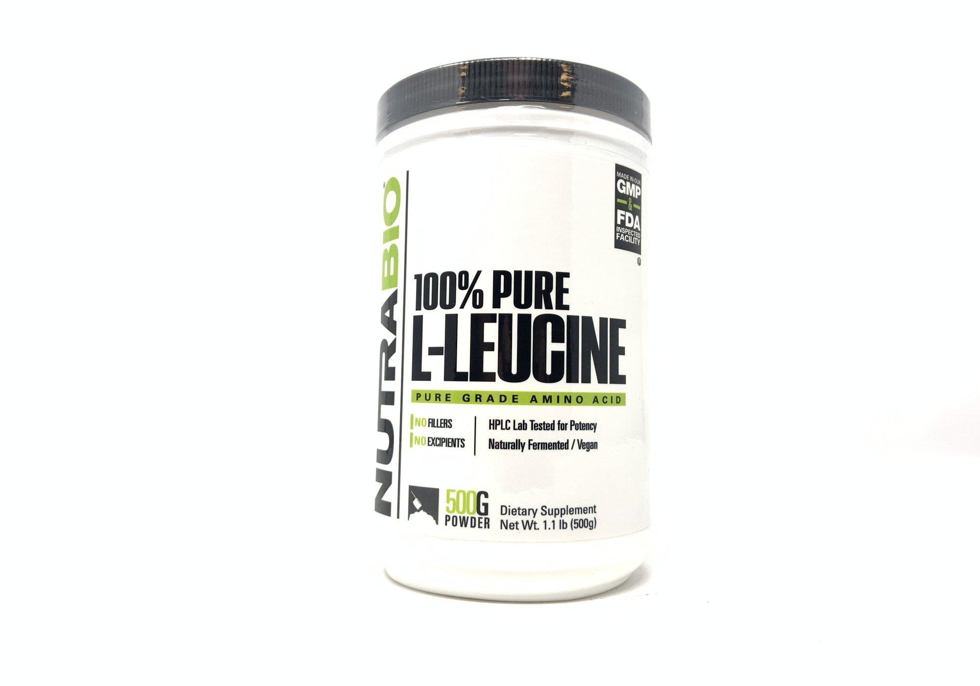 Nutrabio: L-Leucine 500g