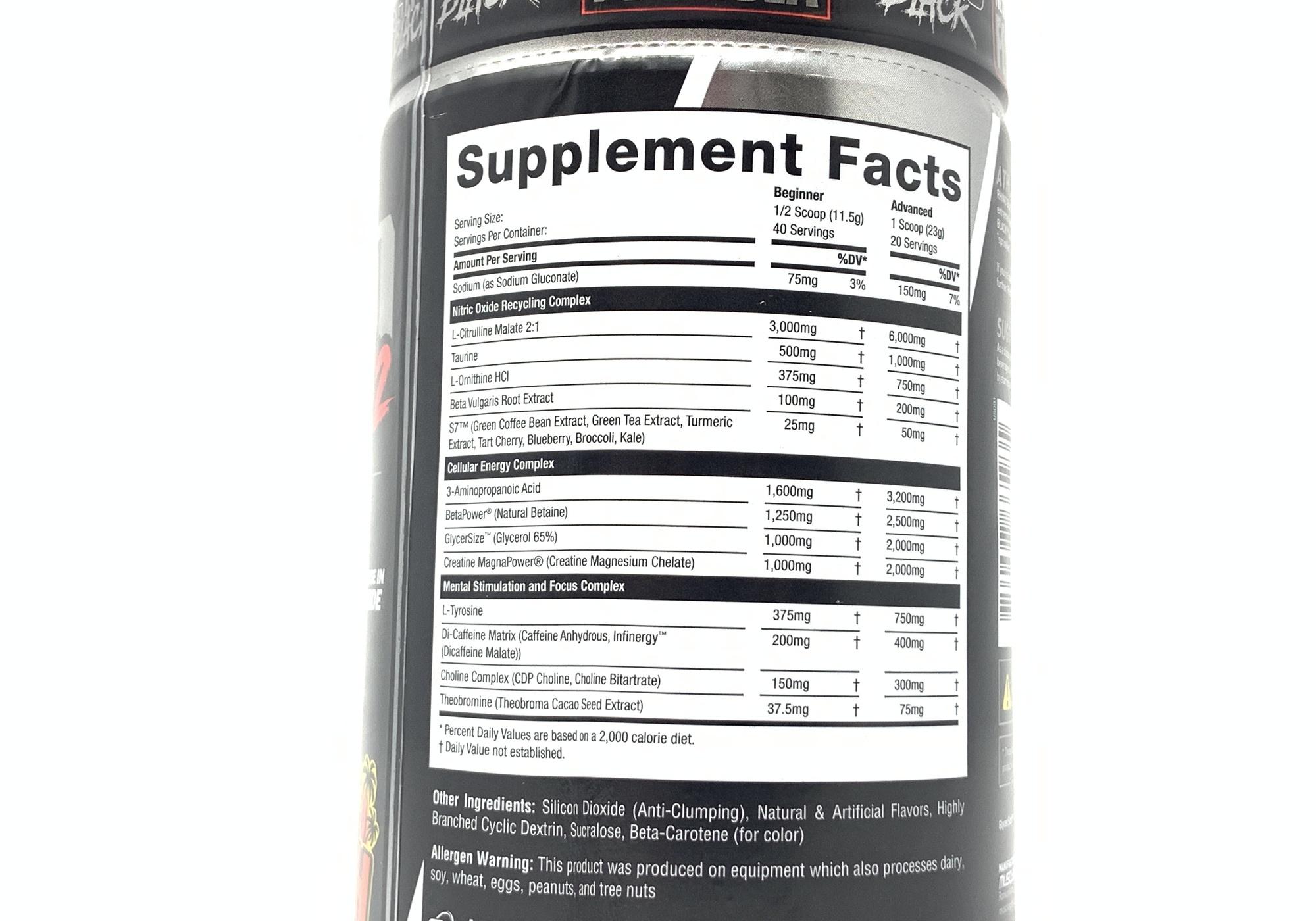 MuscleSport: Rhino Black v2