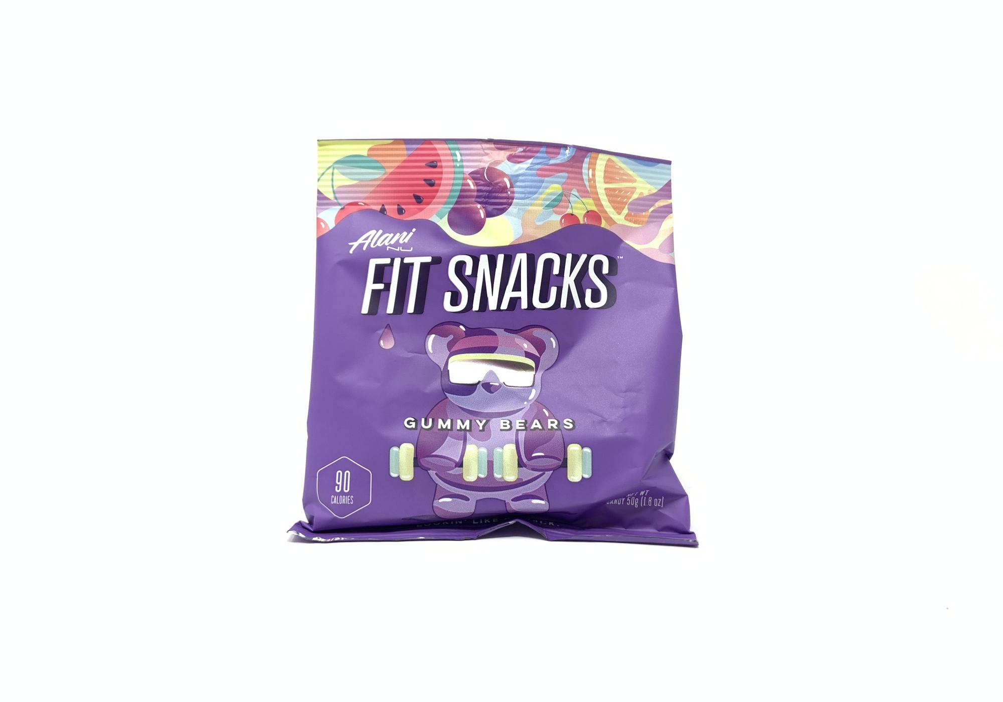 Fit Snacks Gummy Bears