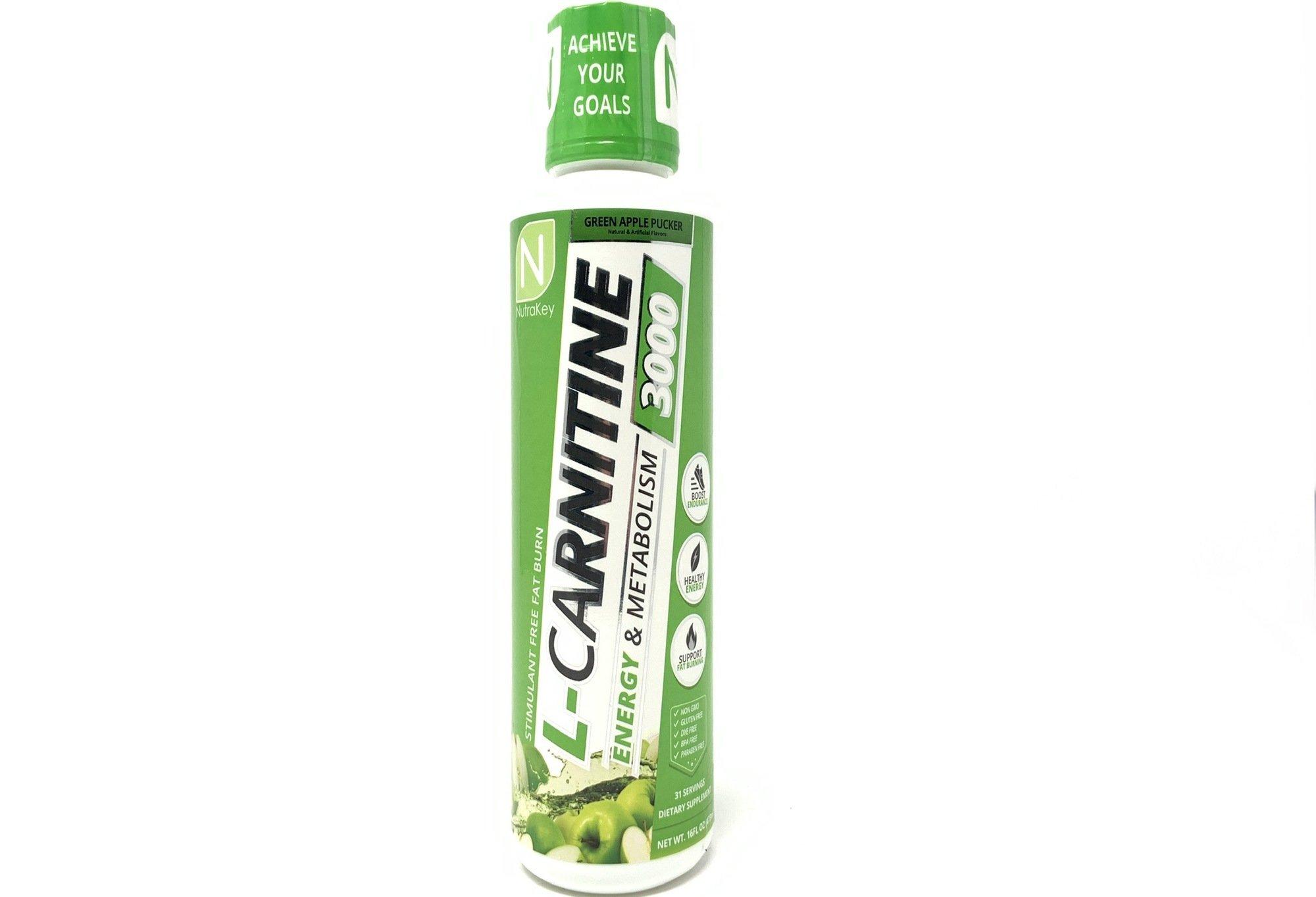 NutraKey: L-Carnitine 3000mg