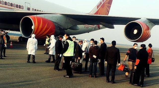 Air India Wuhan