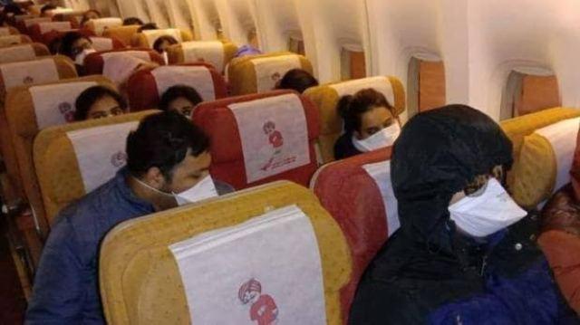 Air India Carona
