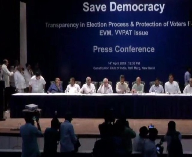 EVM AND OPPOSITION