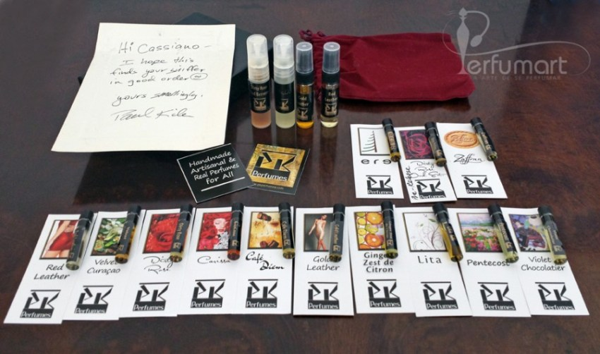 Perfumart - post recebimento PK Perfumes