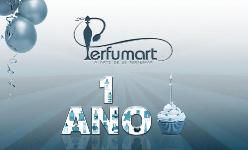 Perfumart - post 1 ano do site