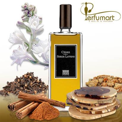Perfumart - resenha do perfume Cèdre