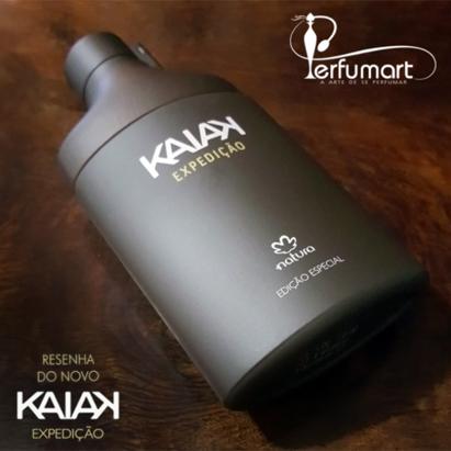 Perfumart - resenha do perfume Natura - Kaiak Expedição