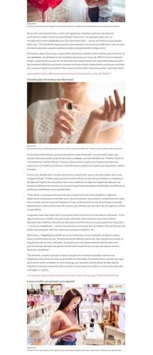 Perfumart – Na mídia IG