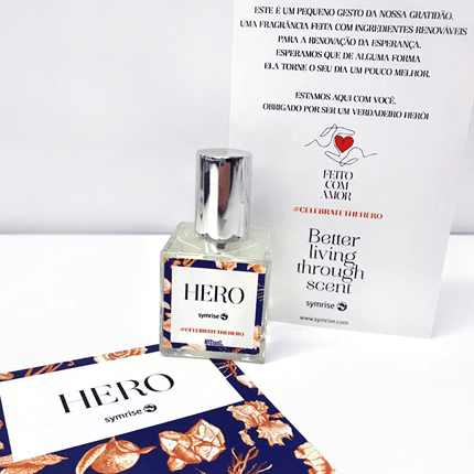 Perfumart - foto para post Hero Cologne da Symrise