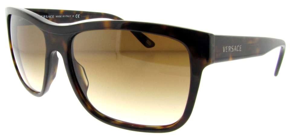 ade4c90408 Ve 4179 108 51 Dark Havana By Versace For Men – 60-16-140 Mm Sunglasses