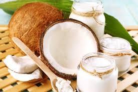 Coconut oil in hair