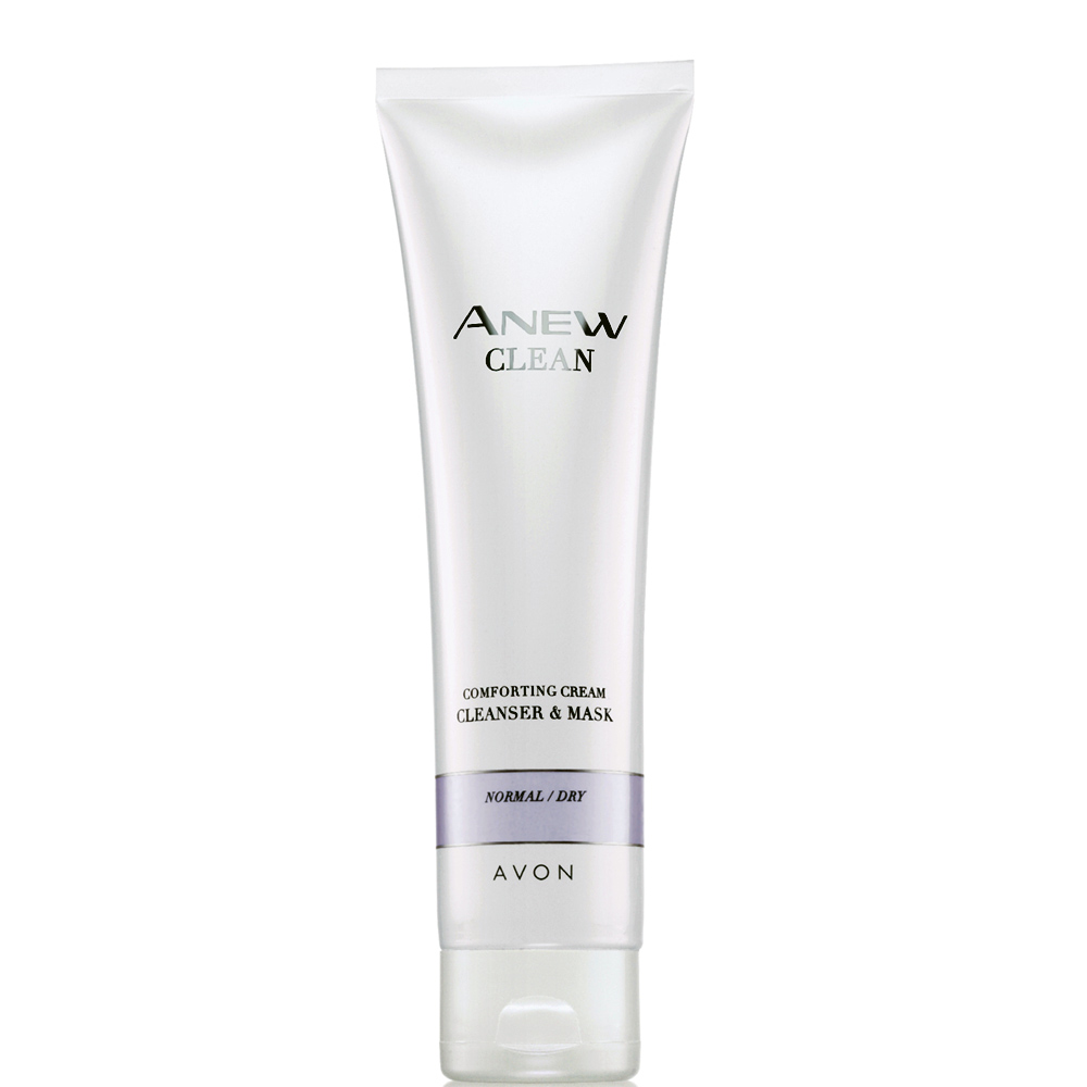 Anew Comforting Cream Cleanser & Mask by AVON