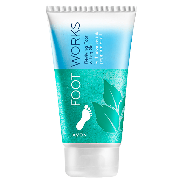 Avon Footworks Reviving Foot and Leg Gel with Peppermint oil - 150 ml