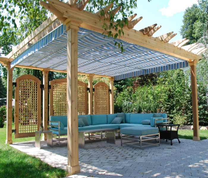 Covered Deck Designs Pictures   Joy Studio Design Gallery ... on Covered Pergola Ideas  id=44781