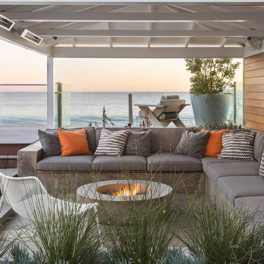 beach themed and style patio ideas