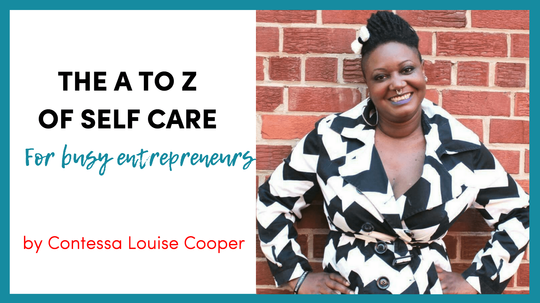 self care for busy entrepreneurs