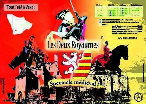 Les 2 royaumes : Spectacle médiéval