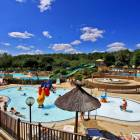 Complexe piscine Camping La Châtaigneraie