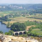 Domme view of the Dordogne Valley