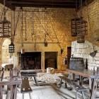 Château de Beynac : cuisines