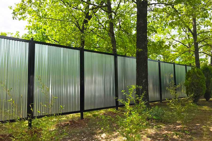 11 Backyard Fence Ideas [Beautiful Privacy For People ... on Decorations For Privacy Fence id=41632
