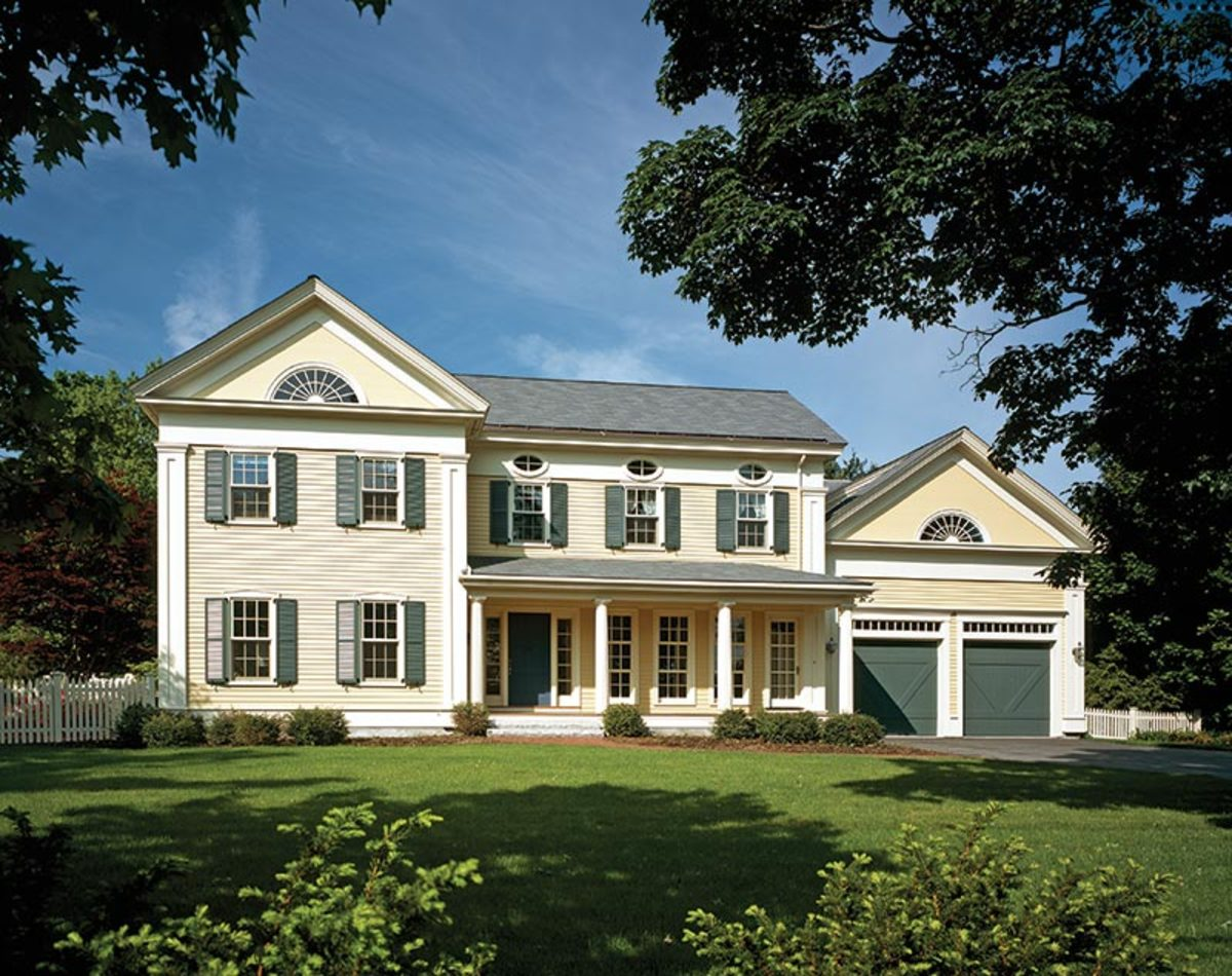 Greek Revival House Revival Home In Maine Gets Refreshed
