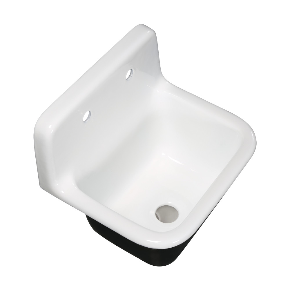 fauceture petra galley 22 inch wall mount single bowl kitchen sink